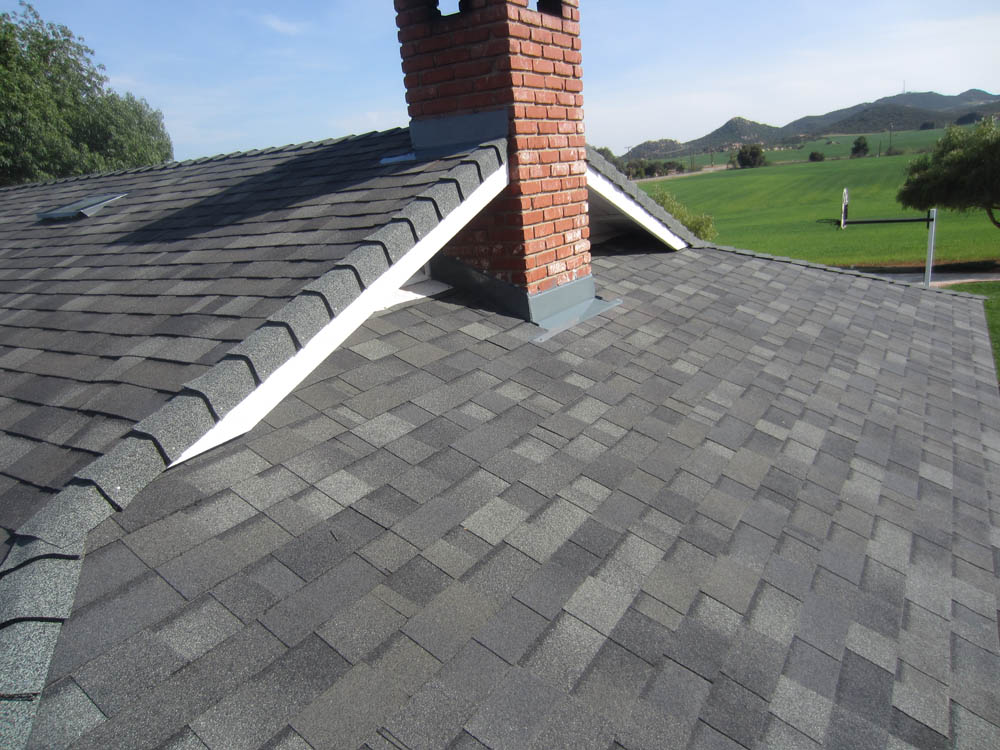 Freeman sons roofing composite shingle roof 15 Composite roofing tiles